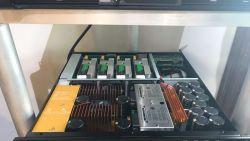 Classe d'enceinte de line array caisson de basses Td PRO AMPLI Audio DSP
