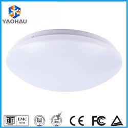 Пластмассовая крышка Индикатор микроволнового датчика лампа SMD 18Вт для использования внутри помещений светодиодный датчик перемещения потолочного освещения