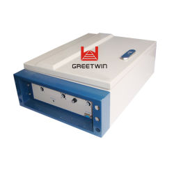 Amplificateur de ligne double bande haute puissance 40dBm dcs1800MHz WCDMA2100MHz répétiteur de signal de téléphone cellulaire pour la couverture 2000-3000m