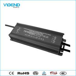 Driver de LED à gradation 0-10V 300W avec l'utilisation étanche pour éclairage extérieur