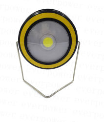 Super brillante COB Linterna linterna LED con soporte