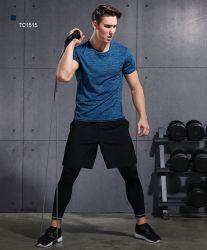 Kleding van de Geschiktheid van de Bovenkledij van het Overhemd van mensen de Atletische en van de Gymnastiek van Legging Vastgestelde