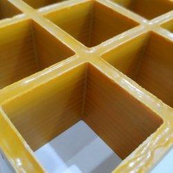 Matériau de construction en acier anti-patinage FRP GRP/contre-batteur Pultruded Bar grillage à mailles de fibre de verre