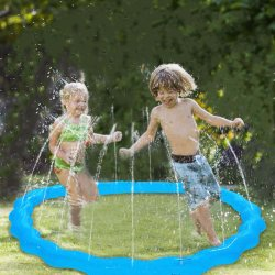 Anneau de géant à eau pulvérisée de plein air Tube 72'' saupoudrer et vaporisez Party Play piscine gonflable Toy billes sprinkleur
