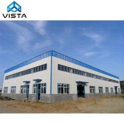 L'industrie légère en acier préfabriqués Cadre de la structure du bâtiment de stockage Entrepôt de l'atelier