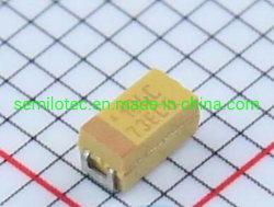 TAJA106K016RNJ 축전기 10UF (106) 16V 10% 모자 Tant 고체 A 사례 1206 SMD 칩 탄탈