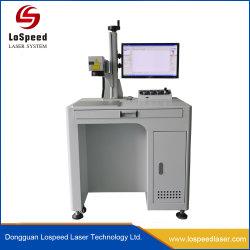 Utilisation de fibres de haute précision largement machine de marquage au laser sur les métaux en PVC ABS