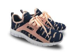 Gemerkt Dame Soft Running Sport Shoe met het In te ademen Bovenleer van het Netwerk
