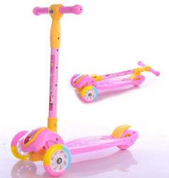 Los nuevos modelos kids juguetes de bebé de 3 ruedas Scooter con la música, el niño Scooter de venta