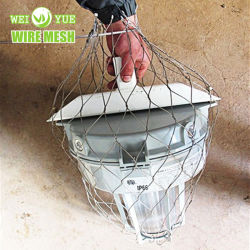 Chute en acier inoxydable AISI316 Safe Net pour le maintien en poste secondaire