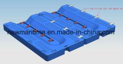 Lancha doca flutuante plataforma flutuante PE Shell e espuma de poliestireno expandido