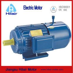 Motore asincrono elettrico di CA del freno di Yej di induzione a tre fasi Premium elettromagnetica di alta efficienza