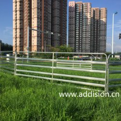 Bisagras de puerta de la finca el alimentador de ganado ovino valla de jardín patio cercado paneles