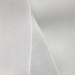 Napa clásica PU Cuero artificial para el sofá, Material de PU para asiento de seguridad, la imitación de cuero sofá PU respaldo Velveteen