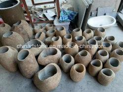 الصين طبيعة حجارة إناء لأنّ زهرة