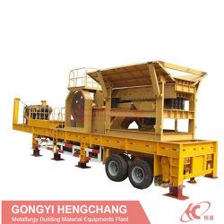Sand-Herstellung Fabrikmobile Stein/Aggregate/-Gold/Copper-/Mobile/Felsen-Bergbau/Kalkstein/Auswirkung/Kegel/Rolle/Hammer/Kiefer-Zerkleinerungsmaschine