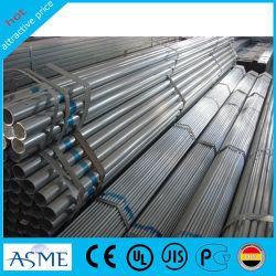 Углерод структурных круглый стальной трубы Pre-Galvanized