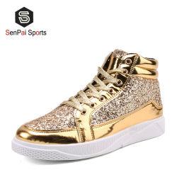 Fabricante China PU de alta calidad Shinny Mujer Zapatos de skate