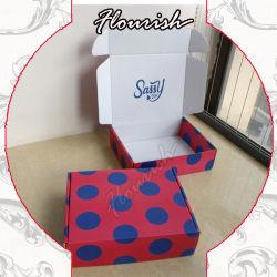 caja de cartón corrugado plegable de impresión personalizadas para niños juguetes Embalaje de regalo