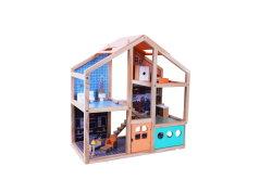 Hölzerne Spielwaren-und Baby-Spielwaren-Hersteller-Fabrik des hölzernen Puppe-Hauses für Kinder und Kinder