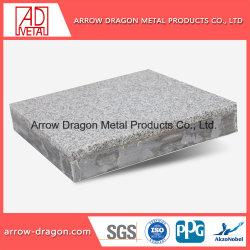 Ligero de aluminio de alta rigidez del granito del Panel de panal.