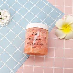 100% naturales y orgánicos de matorrales sal rosa del Himalaya para exfoliar y humectar la piel