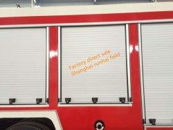 Camion de pompiers de l'aluminium porte volet roulant Portes en aluminium pour les véhicules