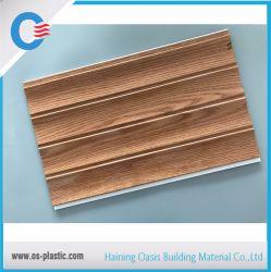 PVC rainure lisse du panneau stratifié résistant à l'eau du panneau de plafond
