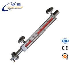 Régua de alumínio líquido magnético o nível de bolha, régua da Ferramenta de nível de água ajustável