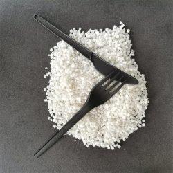 Los gránulos de resina biodegradable PLA PLA de moldeo por inyección resistentes al calor