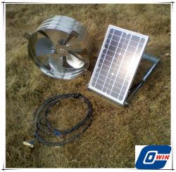 De zonne Aangedreven Ventilator van de Uitlaat met Zonnepaneel 20watt en Kabel