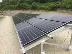 Pilha de aterramento de referência de aterramento do sistema de fixação do parafuso de aterramento Solar Solar Sistema de Suporte