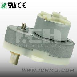 48mm plana de 6V DC da caixa de velocidades reduzidas Cilíndrica Ovóide Motor de engrenagens eléctrico para a fechadura da porta