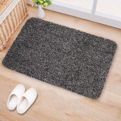 Amazon hot продажи Super абсорбирующий Magic очистите входной двери коврик для использования внутри помещений Пэт коврик Коврик для установки вне помещений поглощают грязь Doormat воды
