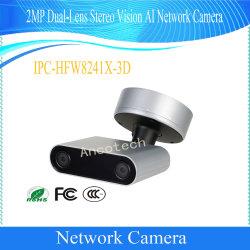 2MP Dual-Lens Dahua visão estéreo Ai Segurança CCTV Câmara de rede (IPC-HFW8241X-3D)