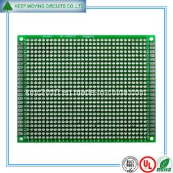 2 Fr4 verde de la capa de PCB con HASL+sin plomo
