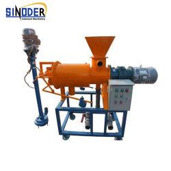 Facile à l'opération visser le filtre séparateur de liquide solide de presse de la machinerie de ferme laitière
