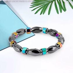 Juwelen van de Armbanden van de Gezondheid van het Hematiet van de Schoonheid van de minnaar de Kleurrijke