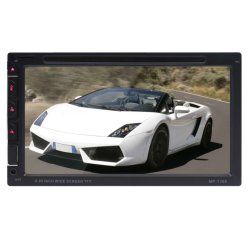 Backupkamera unterstützte LÄRM zwei Autoradio mit Auto Audio-Fernsehapparat DVD