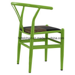 Ristorante verde di disegno della vernice Y del ferro che pranza presidenza (C108)