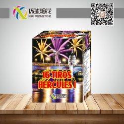 Disparos Herculess 1.2inch 16I Fórmula química no exterior do consumidor saúda os fogos de artifício