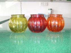 La verrerie/Bouteille de verre/porte-Pot bougie /