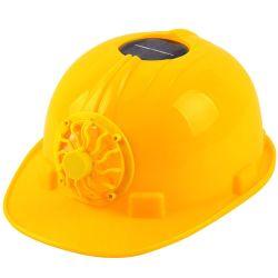 Casco de la construcción de la seguridad de Energía Solar sombrero con ventilador Solar