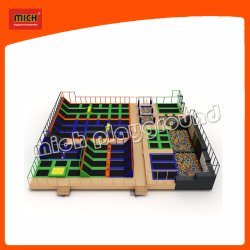Spring Trampoline Bounce Board Voor Shopping Mall