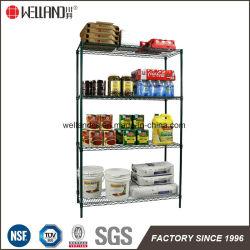 4 niveaux de cuisine commercial Rack de stockage des aliments le fil vert Le Starter Kit de rayonnage