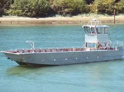 14.6m/48FT アルミニウム長耐久性カタマランランディングクラフト貨物船