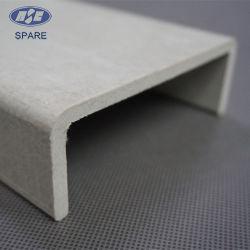 Composant de rechange Pultrusion FRP canal pour l'escalier échelle en fibre de verre haute résistance