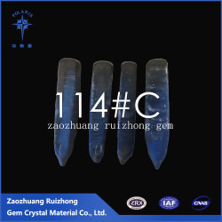 Fibras 114# Spinel Azul Material Joalharia