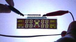 Le verre 16x1 caractères pour calculatrice numérique DOT Matrix