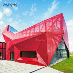 Direkte Fabrik-vorfabrizierte dehnbare Nettoaluminiumplatte für im Freienleben